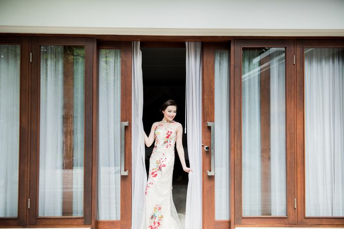 Ria & Andri - Chinese Wedding Traditions by Awarta Nusa Dua Resort & Villas - 030