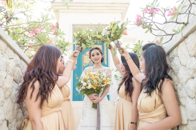 Ezar and Kristi Wedding Bali by Capotrait Photography - 015