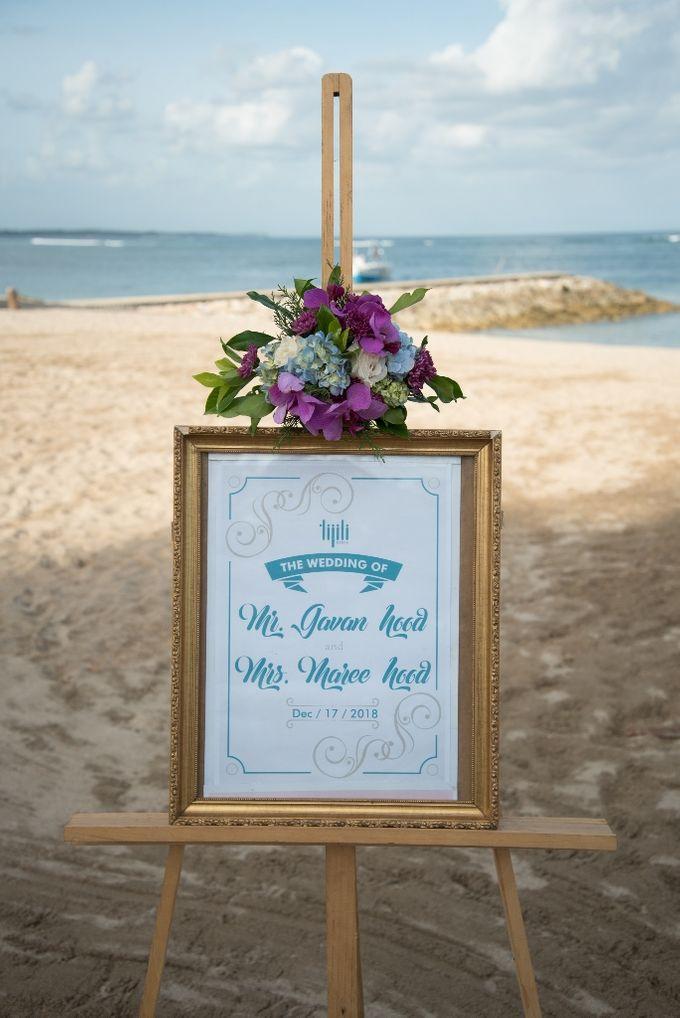 Vow Renewal Ceremony of Mr. Gavan Hood & Mrs. Maree Hood by Tijili Benoa Hotel - 021