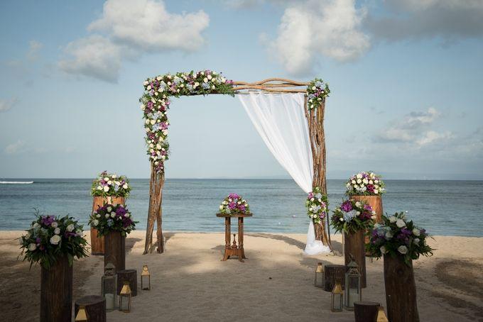 Vow Renewal Ceremony of Mr. Gavan Hood & Mrs. Maree Hood by Tijili Benoa Hotel - 001