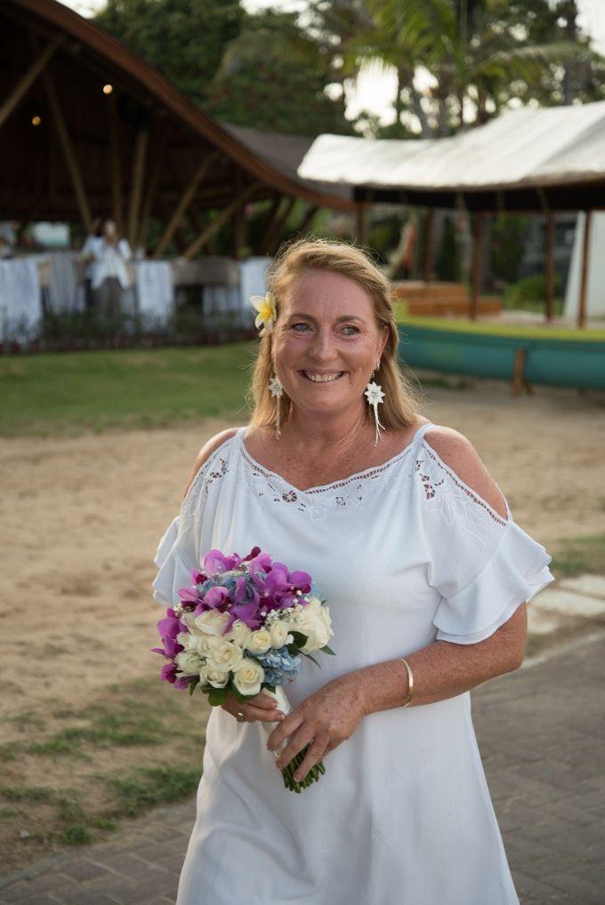 Vow Renewal Ceremony of Mr. Gavan Hood & Mrs. Maree Hood by Tijili Benoa Hotel - 003