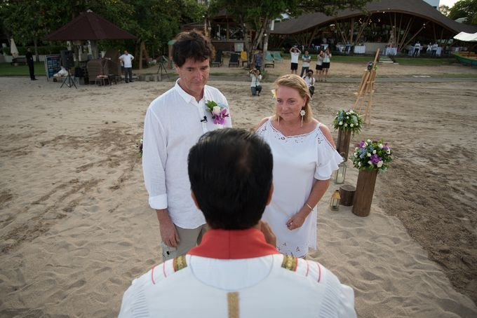 Vow Renewal Ceremony of Mr. Gavan Hood & Mrs. Maree Hood by Tijili Benoa Hotel - 018