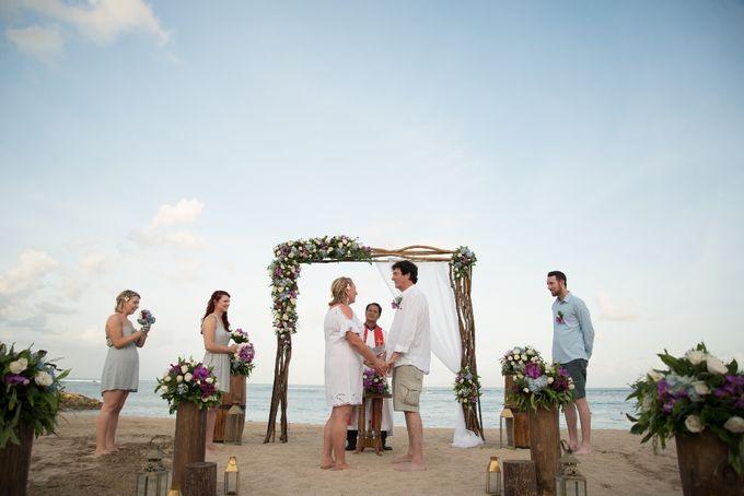 Vow Renewal Ceremony of Mr. Gavan Hood & Mrs. Maree Hood by Tijili Benoa Hotel - 004