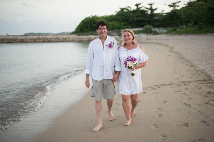 Vow Renewal Ceremony of Mr. Gavan Hood & Mrs. Maree Hood by Tijili Benoa Hotel - 015