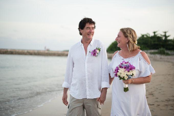 Vow Renewal Ceremony of Mr. Gavan Hood & Mrs. Maree Hood by Tijili Benoa Hotel - 016