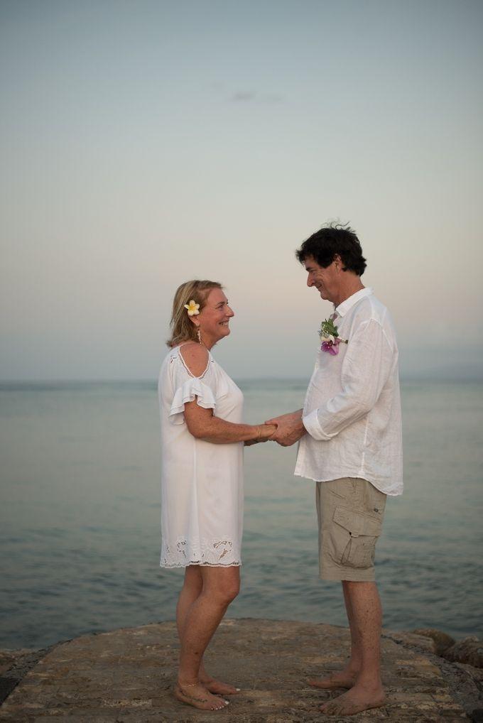 Vow Renewal Ceremony of Mr. Gavan Hood & Mrs. Maree Hood by Tijili Benoa Hotel - 013