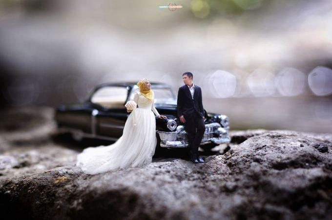 Prewedding Concept Photo Miniatur Levitasi By Vanes Photography