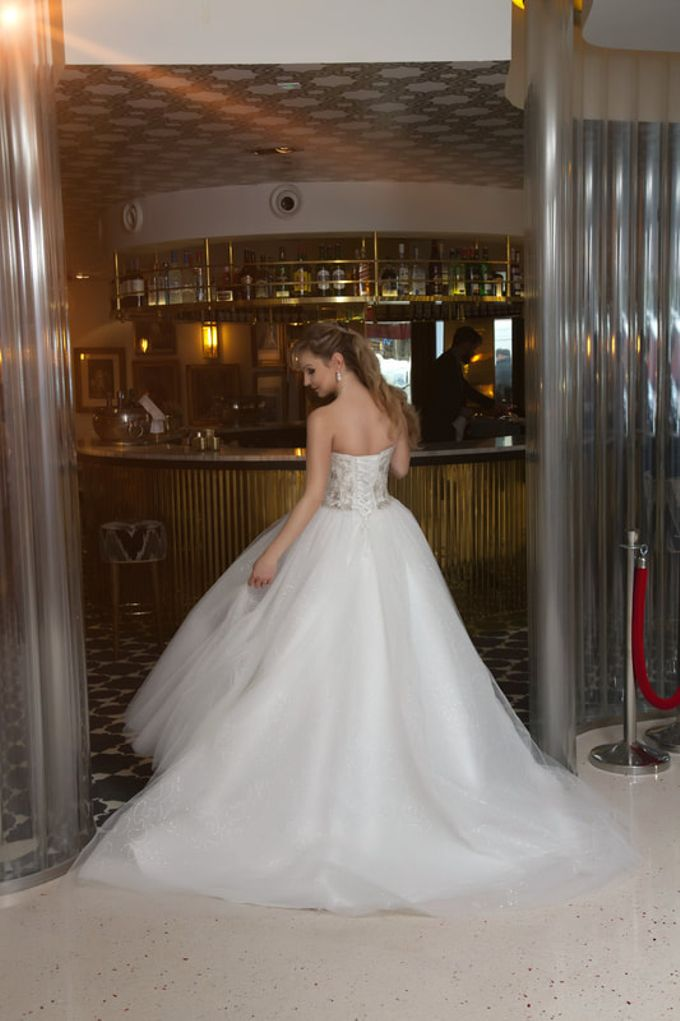 Custom Wedding Dress by weddingdressonline store - 003