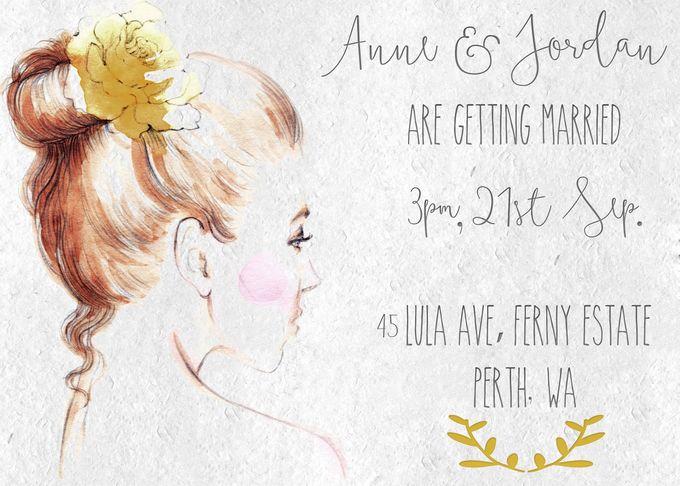 Anne & Jordan by She.Fox Invitations - 001