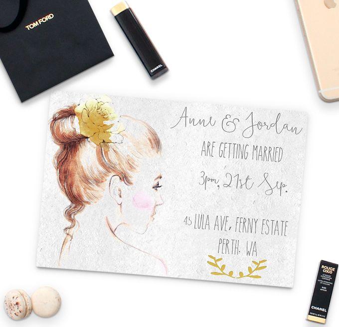 Anne & Jordan by She.Fox Invitations - 002