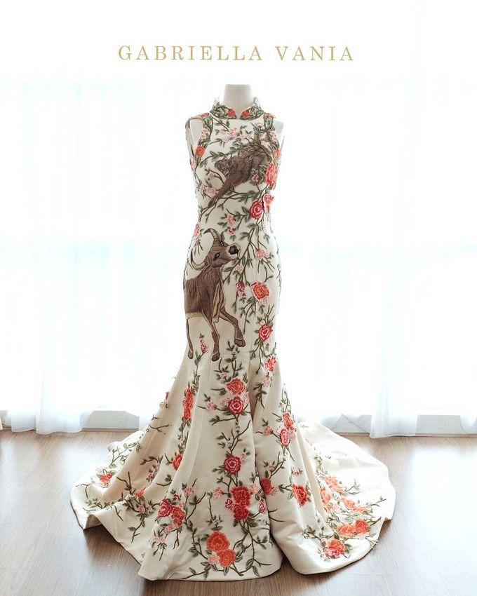 Cheongsam Embroidery - GV HERITAGE by GV by Gabriella Vania - 026