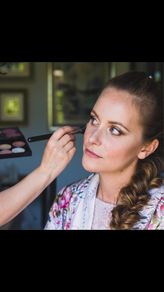 Sarah Wedding  by Antonia Deffenu make-up artist - 001