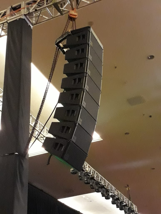 Presentation at westin hotel by antvrivm sound & lighting - 002
