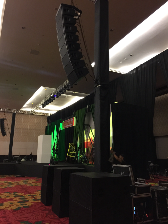 Presentation at westin hotel by antvrivm sound & lighting - 003