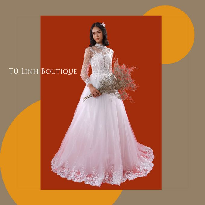 Princess Wedding Dress Template by Tu Linh Boutique - 004