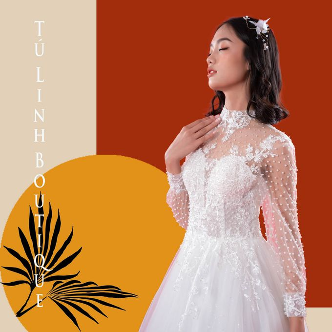 Princess Wedding Dress Template by Tu Linh Boutique - 001