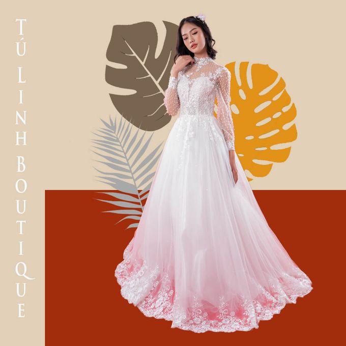 Princess Wedding Dress Template by Tu Linh Boutique - 002