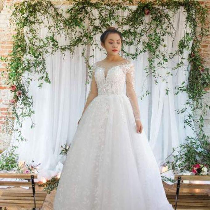 Princess Wedding Dress Template by Tu Linh Boutique - 005