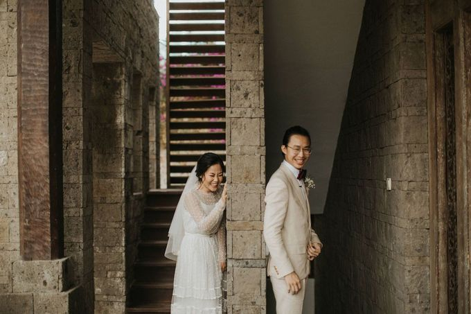 Chris & Calista Real Wedding at The Stone House by Tirtha by Tirtha Bridal - 008