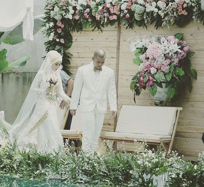 Wedding of Dina & Adit by Azila Villa - 002