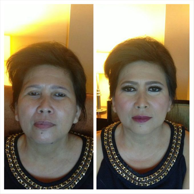 Mom's Make Up & Hair Do by IBELmakeuppro - 013