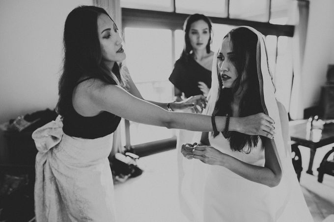 Rustic in Ubud Wedding by Vilia Wedding Planner - 011