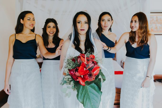 Rustic in Ubud Wedding by Vilia Wedding Planner - 017