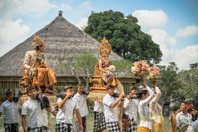 Balinese Wedding Ceremony by Puri Wulandari, A Boutique Resort & Spa - 012
