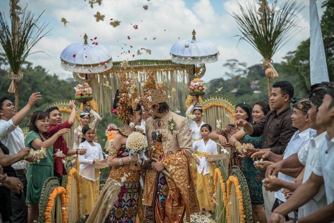 Balinese Wedding Ceremony by Puri Wulandari, A Boutique Resort & Spa - 026