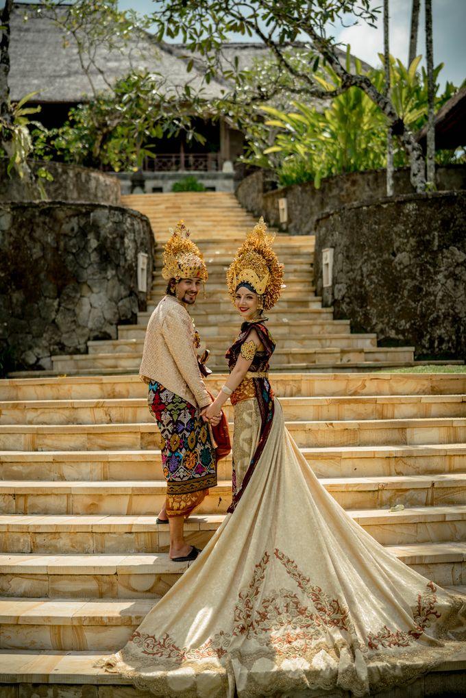 Balinese Wedding Ceremony by Puri Wulandari, A Boutique Resort & Spa - 028