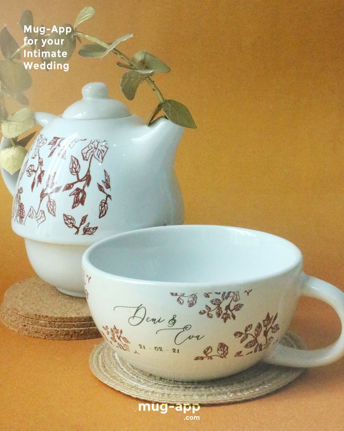 Deni & Eva by Mug-App Wedding Souvenir - 001