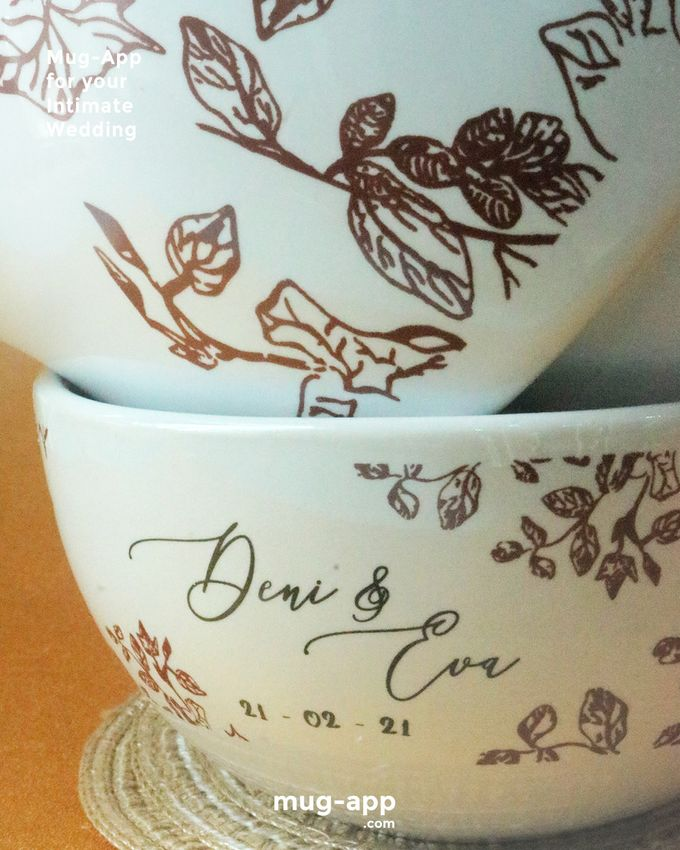 Deni & Eva by Mug-App Wedding Souvenir - 002