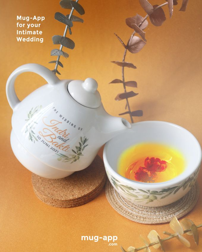 Indri & Bakti by Mug-App Wedding Souvenir - 001