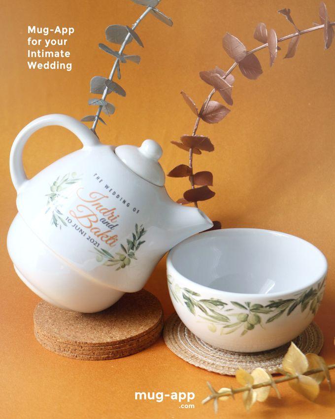 Indri & Bakti by Mug-App Wedding Souvenir - 002