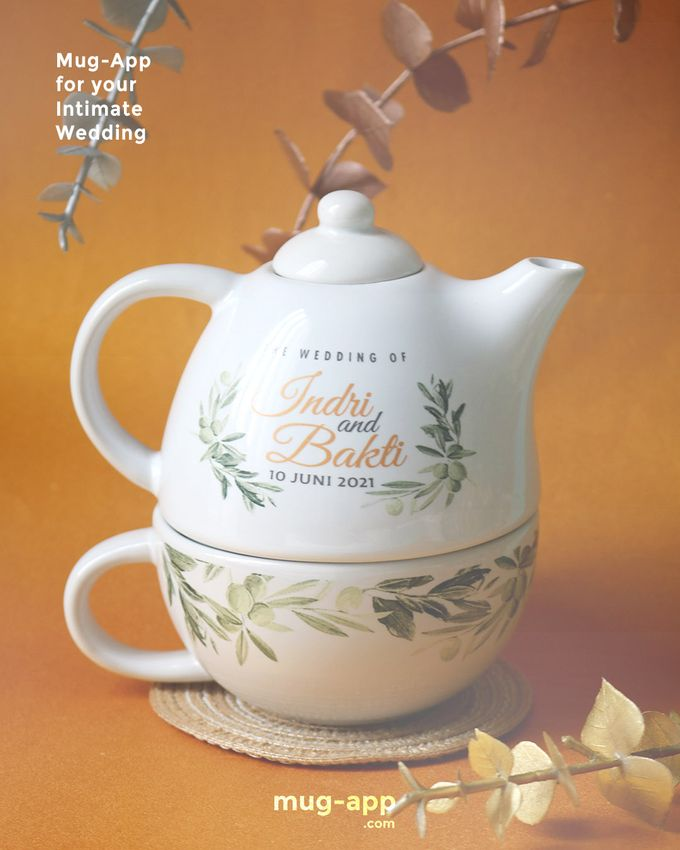 Indri & Bakti by Mug-App Wedding Souvenir - 007
