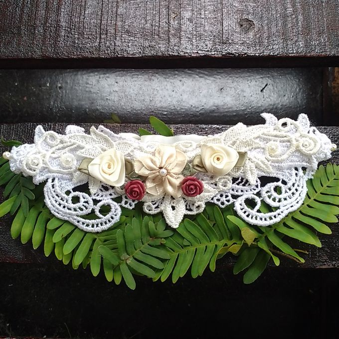 Wedding Garters by Couffia Couture - 003