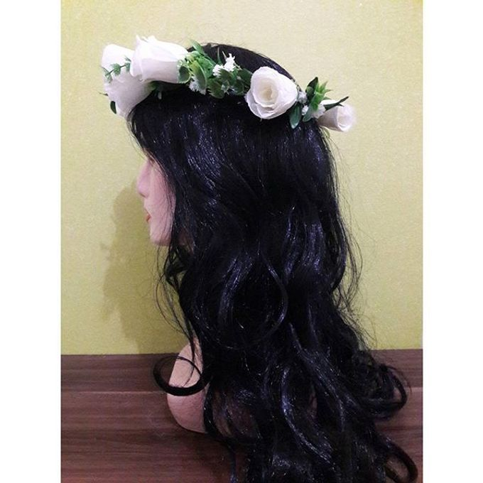 Flower Crown / Bando Bunga / Mahkota Bunga by Estrella Flower Crown - 032