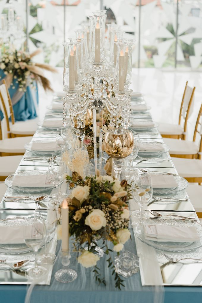 Luxury Elegant Dinner Arragement by Bali Wedding Atelier - 011