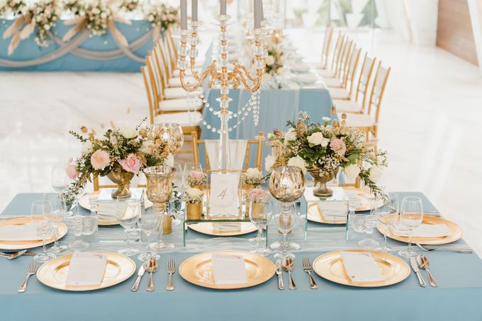 Luxury Elegant Dinner Arragement by Bali Wedding Atelier - 012