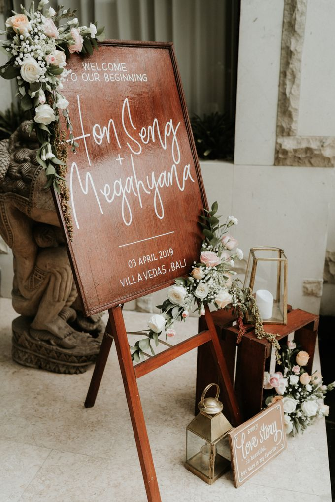 Vintage Elegant Arrangement by Bali Wedding Atelier - 002