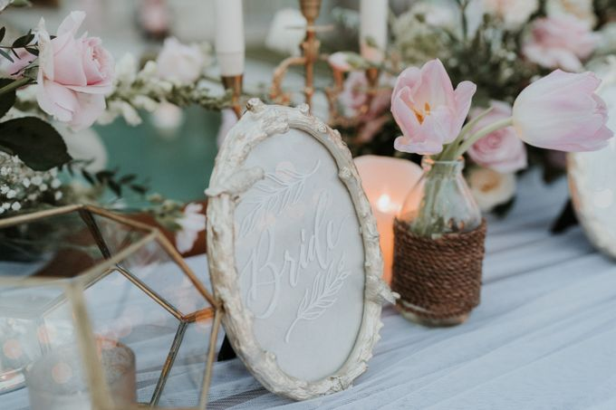 Vintage Elegant Arrangement by Bali Wedding Atelier - 016