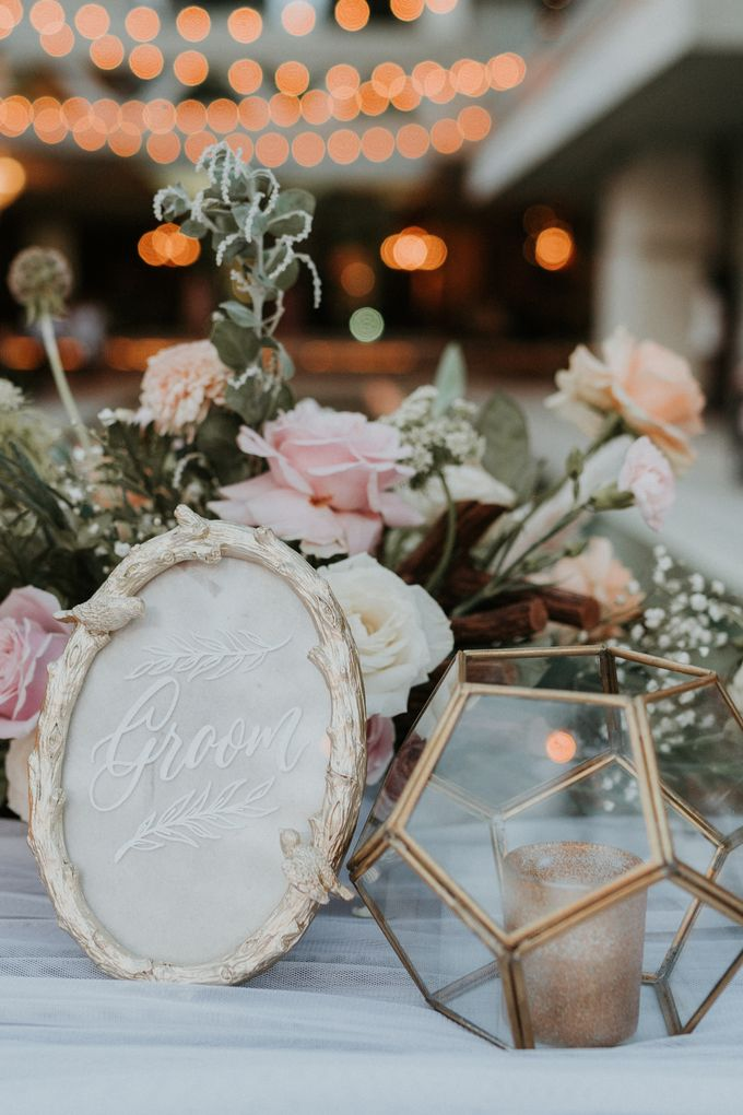 Vintage Elegant Arrangement by Bali Wedding Atelier - 015