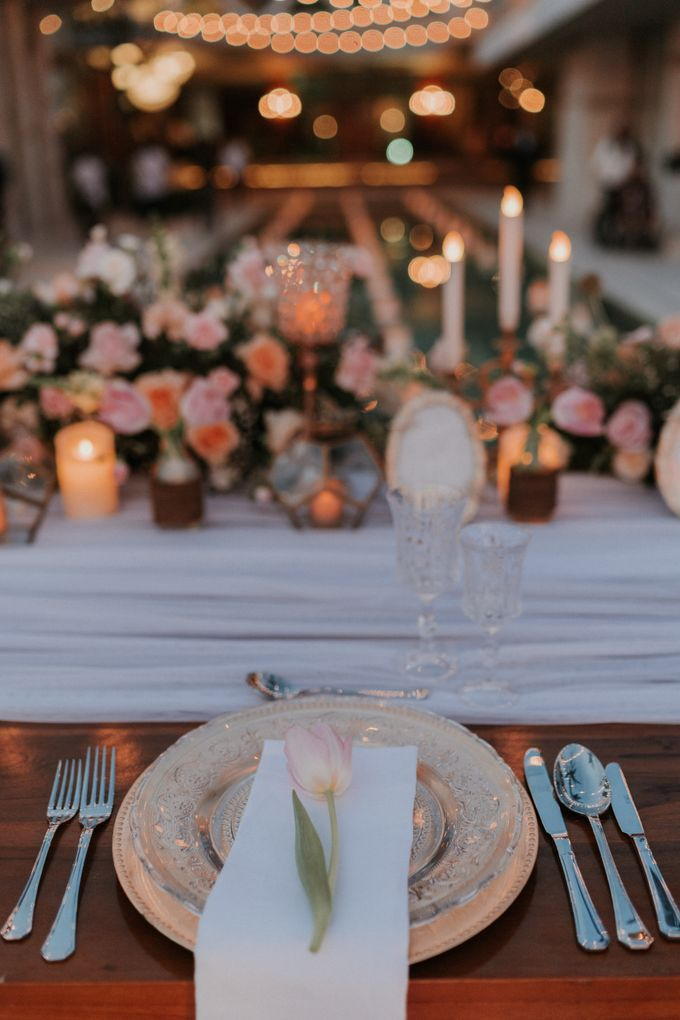 Vintage Elegant Arrangement by Bali Wedding Atelier - 014