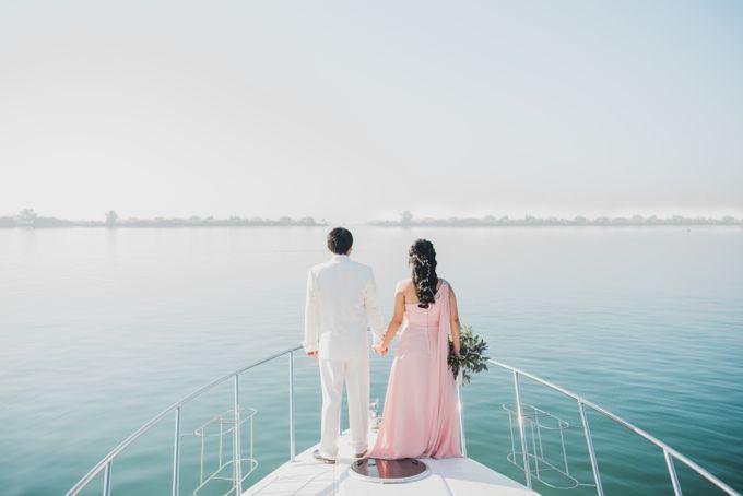 Tropical Island Pre-Wedding at Serangan by Honey Wedding & Event Bali - 002
