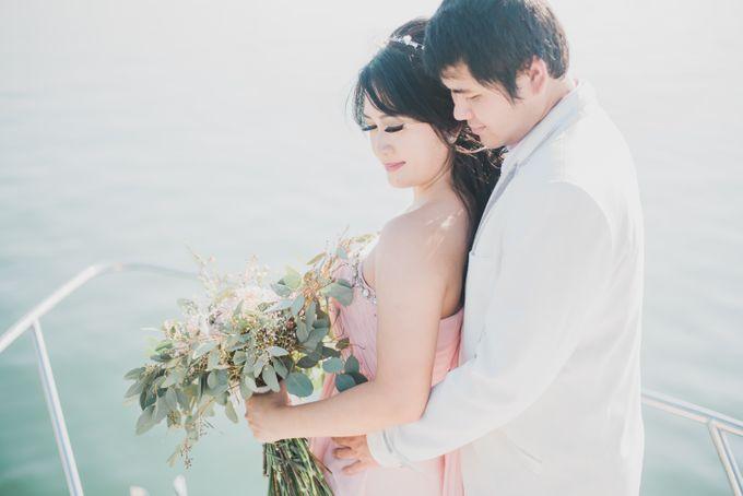 Tropical Island Pre-Wedding at Serangan by Honey Wedding & Event Bali - 006