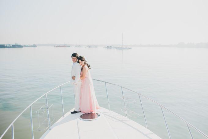 Tropical Island Pre-Wedding at Serangan by Honey Wedding & Event Bali - 005