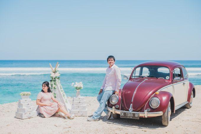 Tropical Island Pre-Wedding at Serangan by Honey Wedding & Event Bali - 017