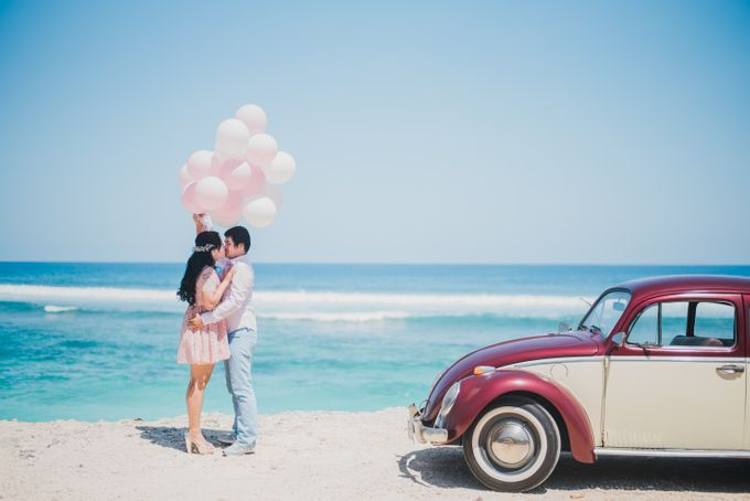Tropical Island Pre-Wedding at Serangan by Honey Wedding & Event Bali - 013