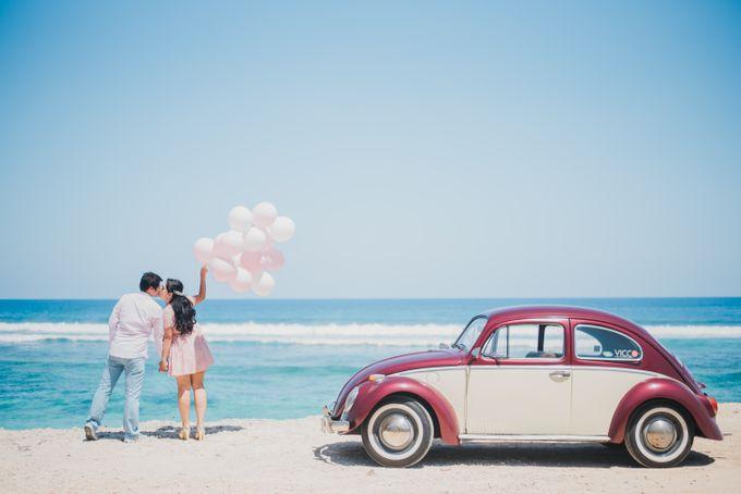 Tropical Island Pre-Wedding at Serangan by Honey Wedding & Event Bali - 012