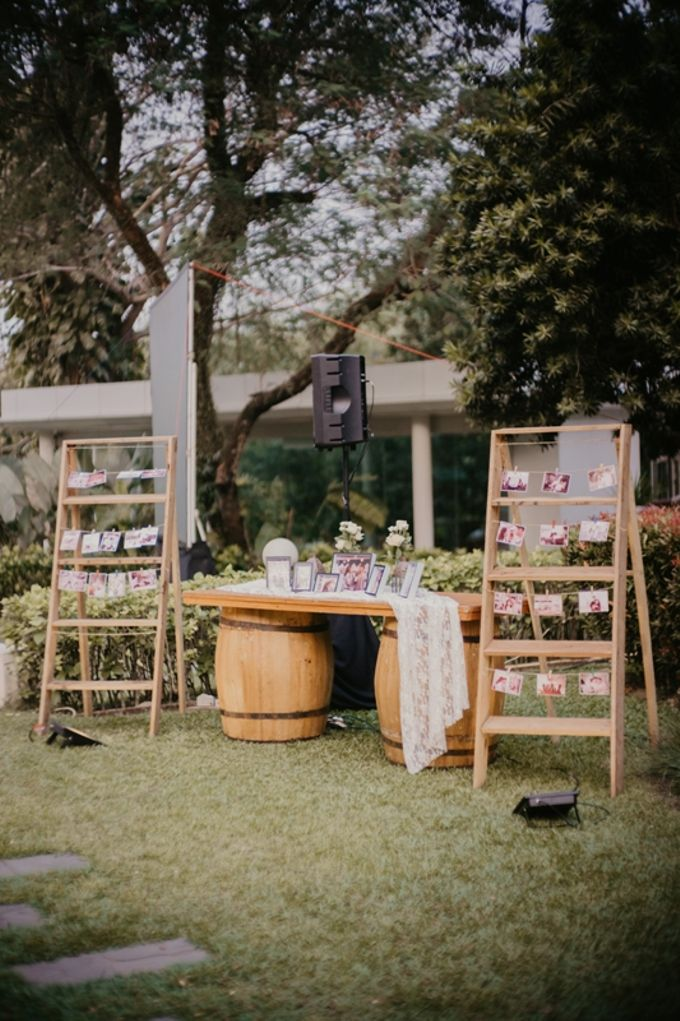 PINGKAN & JASON by Raffles Hills Cibubur - On Green Garden Venue - 001